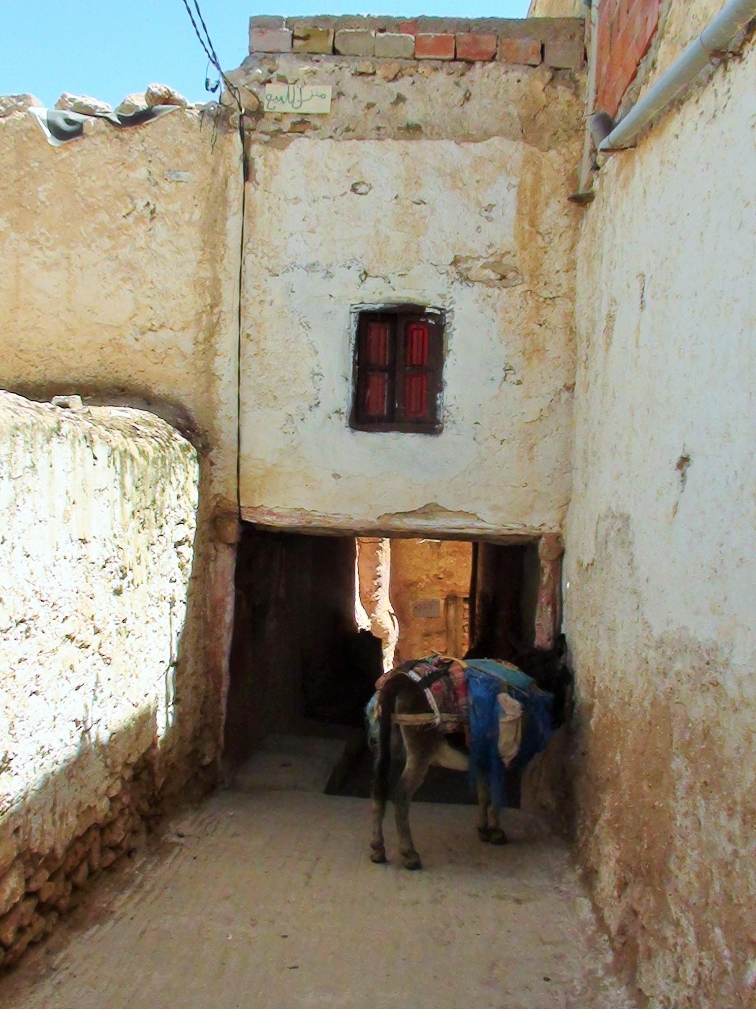 Une rue du Mellah de Debdou