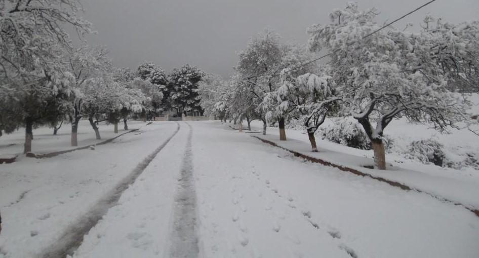 Debdou sous la neige
