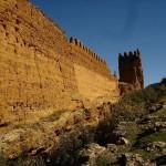 La muraille Mérinide de la Kasbah de Debdou